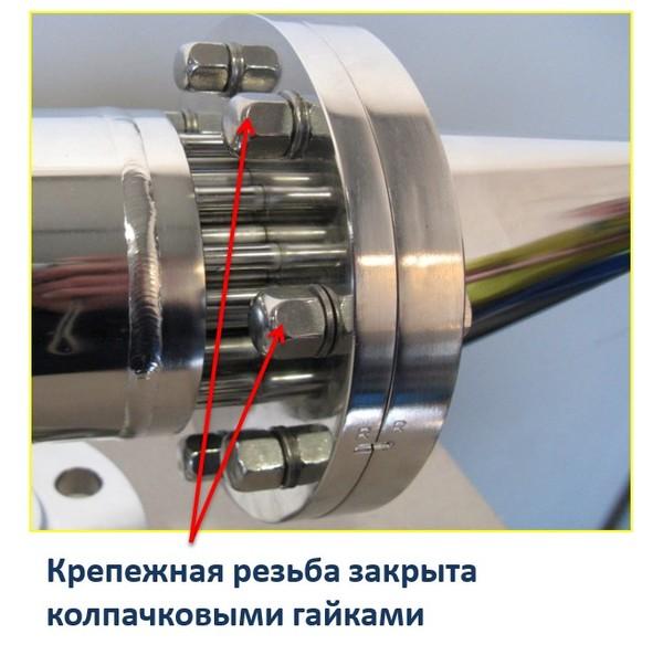 Теплообменник Secespol P-line - детали конструкции
